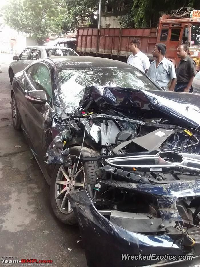 Mercedes AMG-Series S 63 crashed in kolkata   Rustin\' and Recked ...