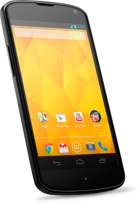 Google Nexus 4 hits India | Things for My Wall | Google