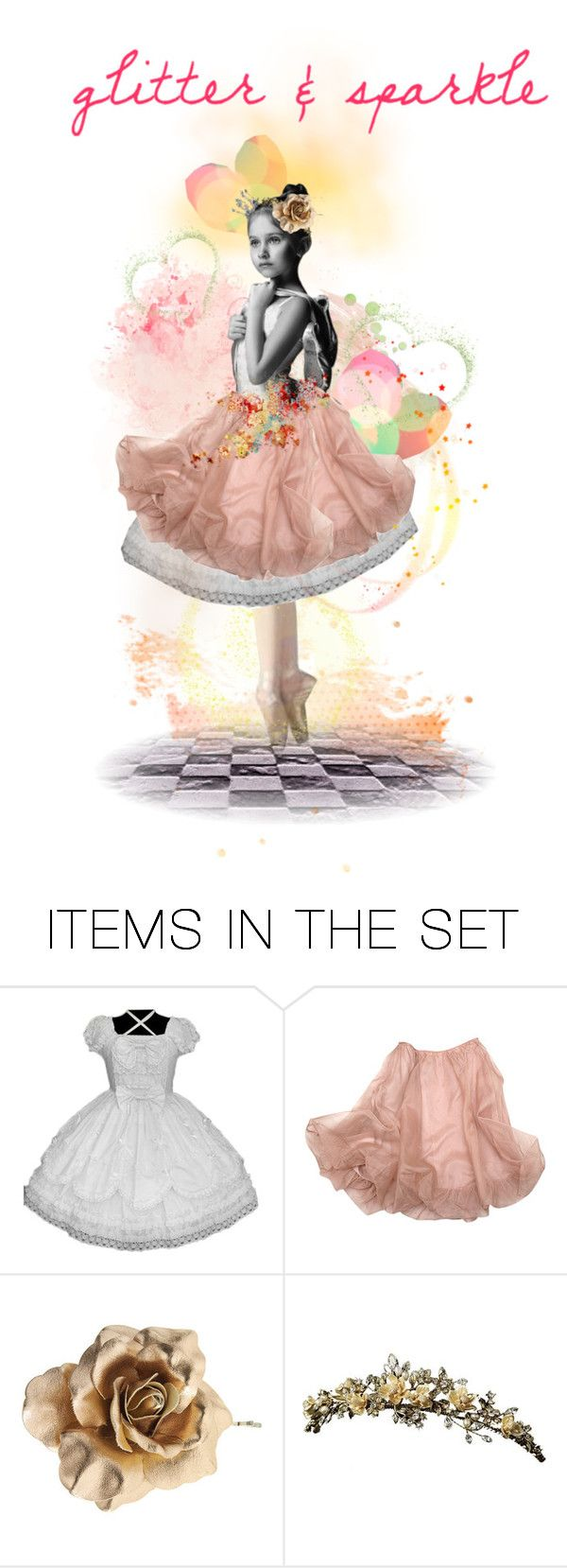 """Twirl Ballerina twirl"" by glitterlady4 ❤ liked on Polyvore featuring art"