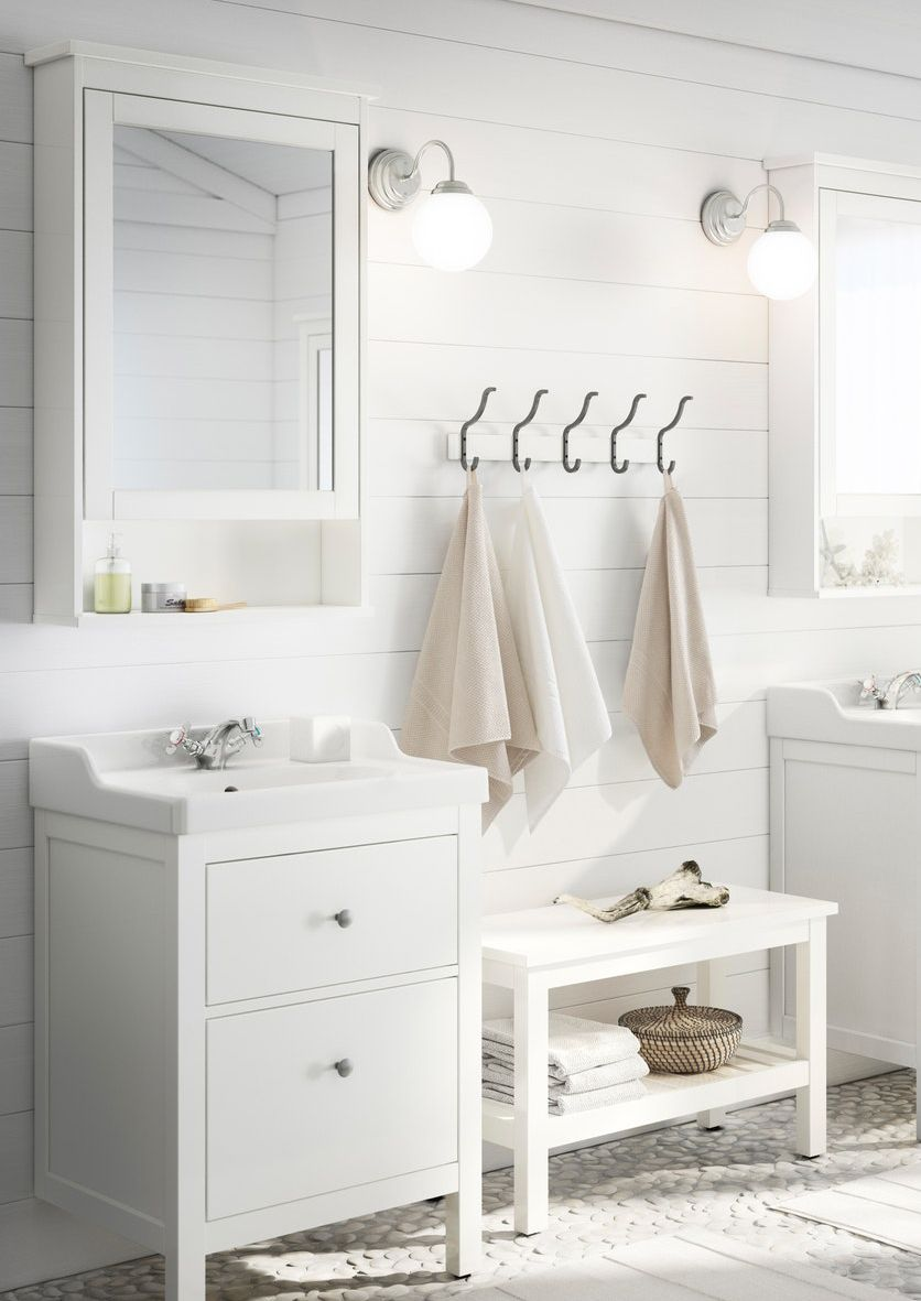 Waschbecken Unterschrank Im Hellen Landhaus Stil Unterschrank Style At Home Waschbecken