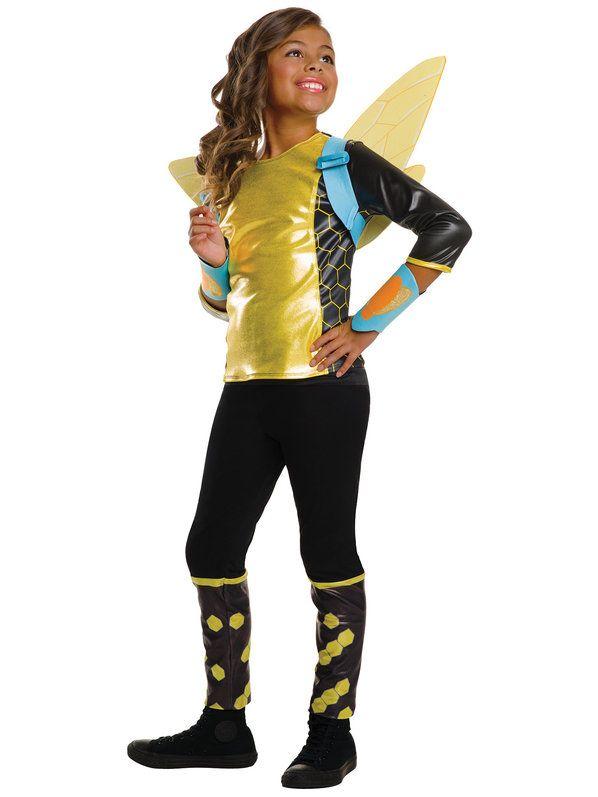 d48c0fc9368 DC SuperHero Girls Bumblebee Deluxe Costume in 2019