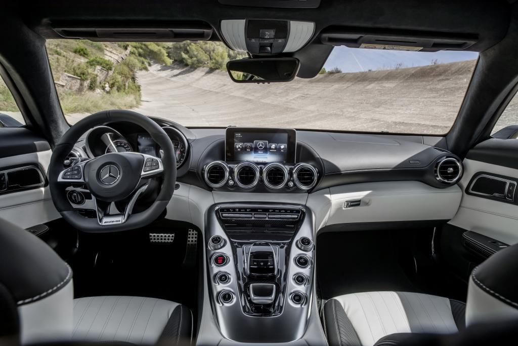 Mercedes Amg Gt Interior Two Tone Exclusive Nappa Leather White