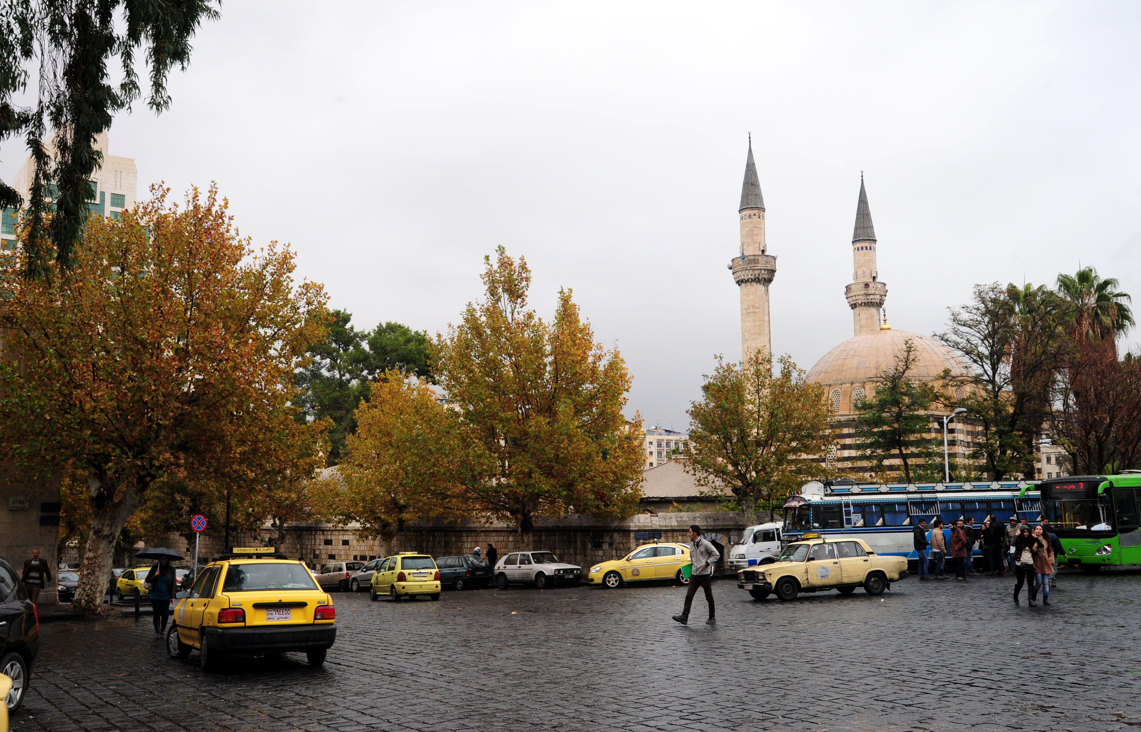 أمطار دمشق 26-11-2014 – S A N A
