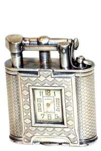 Dunhill Sterling Watch Lighter ca. 1927