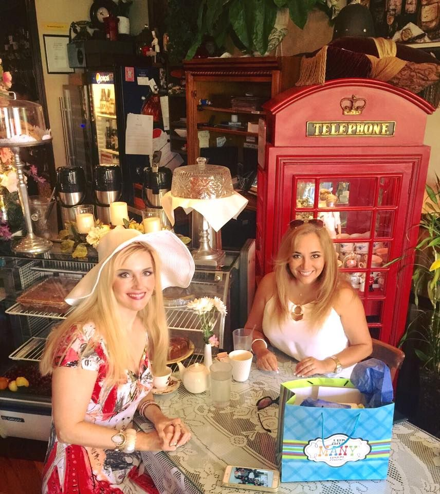 Birthday lunch at the Vienna Cafe; British Style!  6-2016