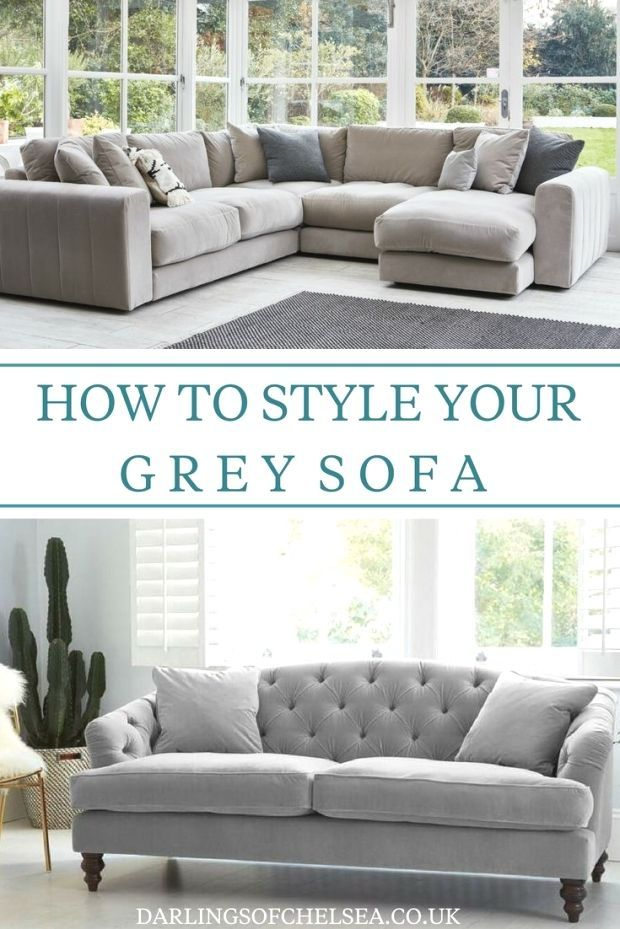 Grey sofas are still the most popular when it comes to stylish home decor choices from monochrome interior design to minimal and contemporary home decor Style your grey s...
