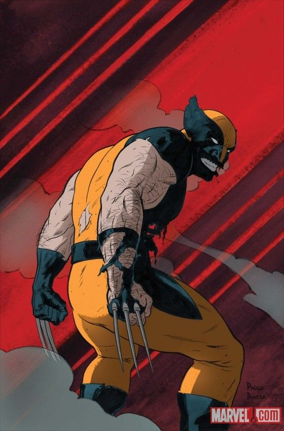 Pin by marvel entertainment on fandom wolverine pinterest wolverine cover by paolo rivera voltagebd Images
