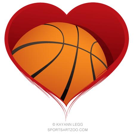 Basketball Heart Design Sportsartzoo Basketball Heart Basketball Heart Design