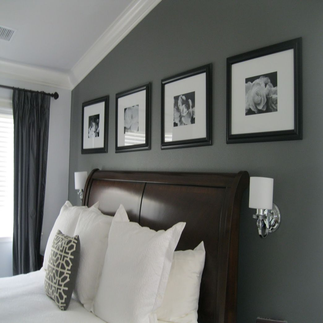 Gray bedroom colors paint bedroom bed position bedroom - Average price to paint a bedroom ...