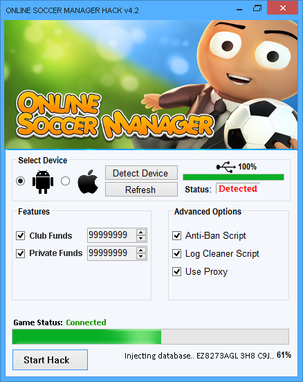 Online Soccer Manager Hack Android Ios Cheats Boss Coin Online Soccer Manager Hack And Cheats Online Soccer Manager Cheat Online Play Hacks Hack Online