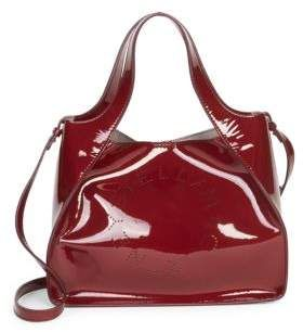 c62a1a7c3921 Stella McCartney Faux Patent Leather Dual Crossbody Bag. From the Saks IT  LIST. HIGH