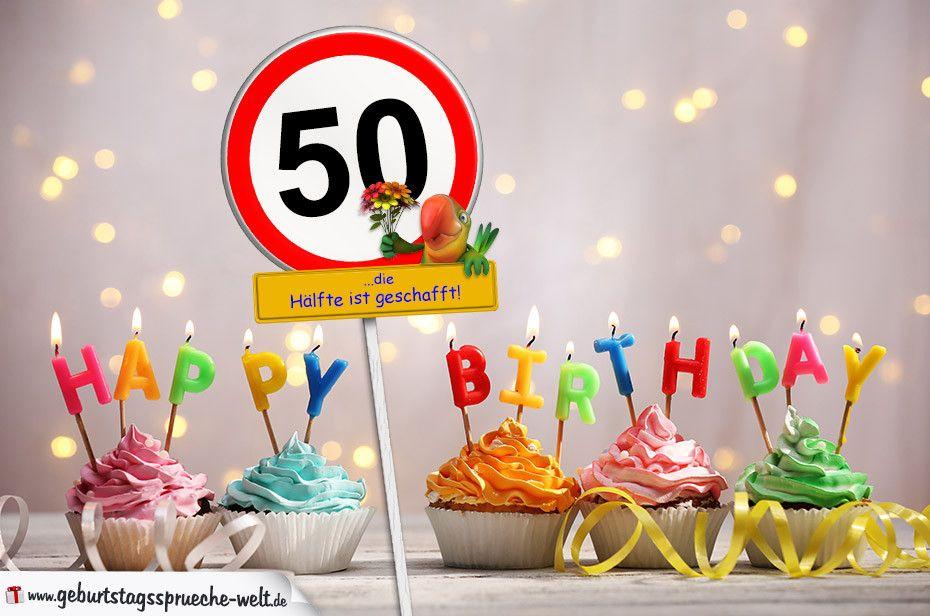 Geburtstagswunsche Zum 50 Kunde New 50 Geburtstag