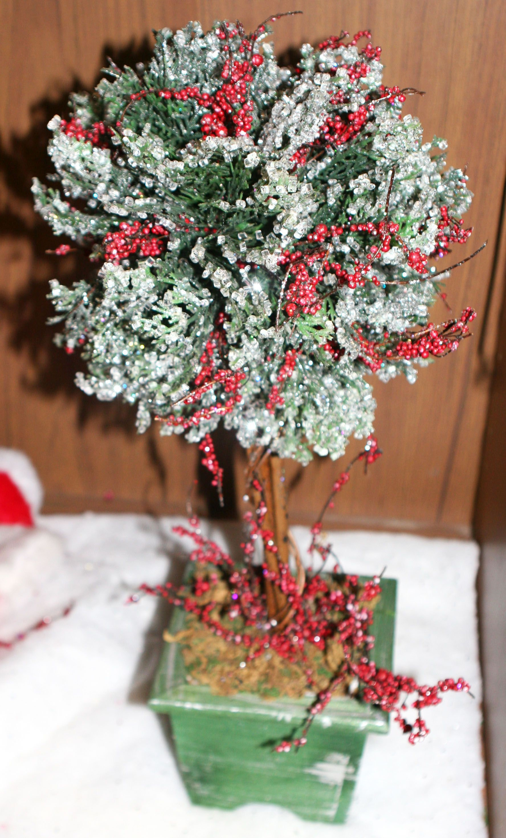 You can buy a gorgeous Holiday Decorative Tree at the ...