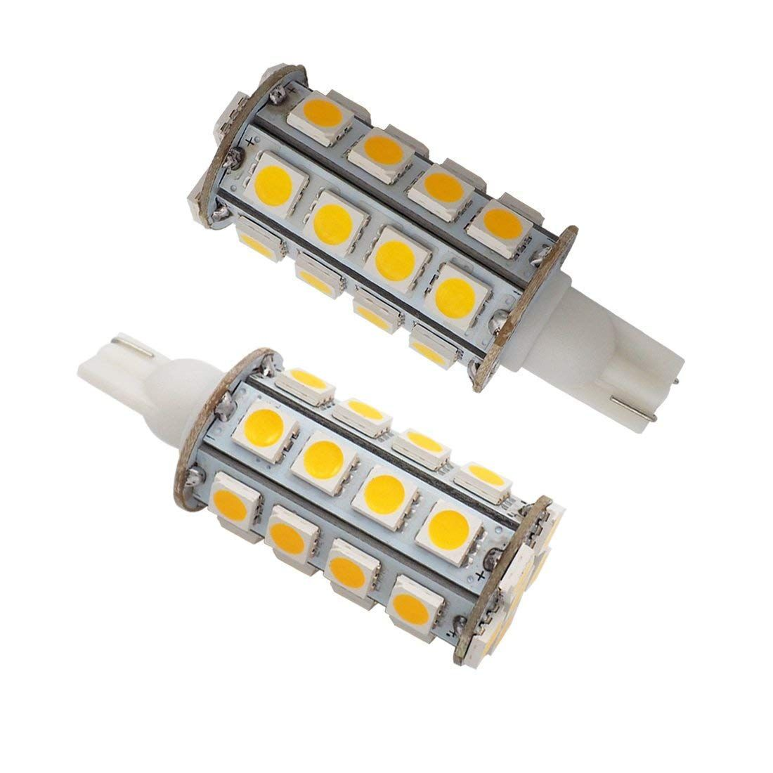 Grv T10 Wedge 921 194 305050 Smd Led Bulb Lamp Super Bright Warm White Ac Dc 12v24v Pack Of 2 Check Out Extra At The Image Web Link Led Bulb Bulb Light Bulb