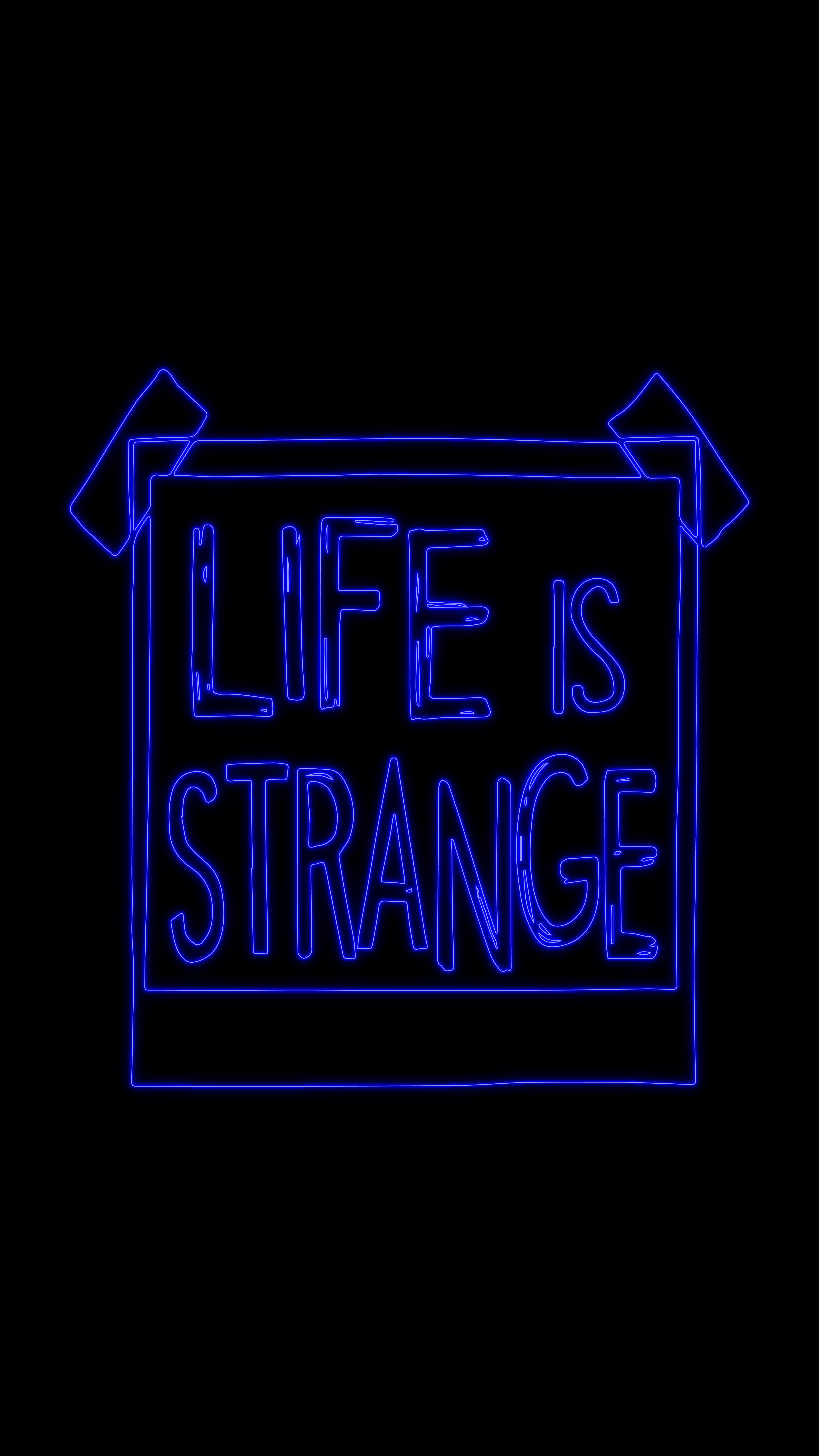 Lis Neon Blue Logo Neon Neon Signs Life Is Strange