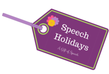 Holiday ideas for Speech Therapy