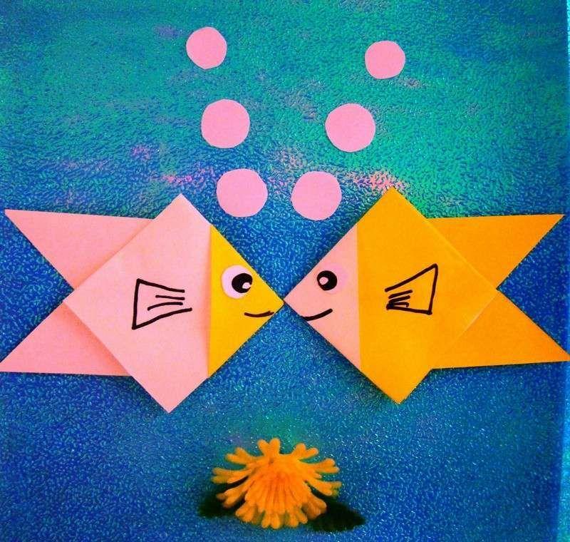 Origami facile 100 animaux fleurs en papier et d co maison origami facile origami et poissons - Origami bateau facile ...