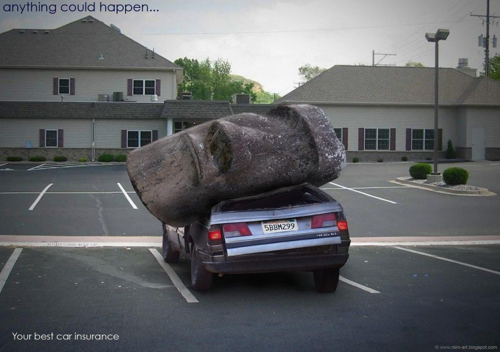 Anything Can Happen Car Insurance Ad Creative Ads
