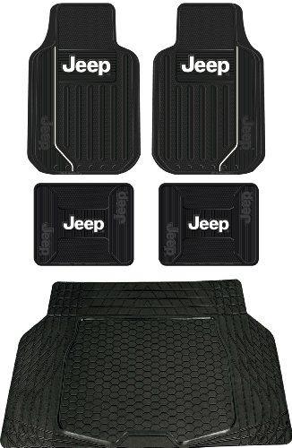 5pc Jeep Mopar Original Logo Elite Style Universal Front And Rear