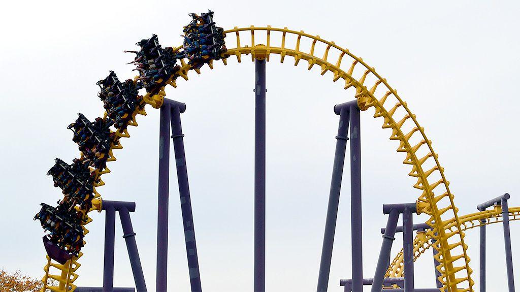 Joker S Jinx Six Flags America Upper Marlboro Maryland Usa Six Flags America Roller Coaster Orlando Theme Parks
