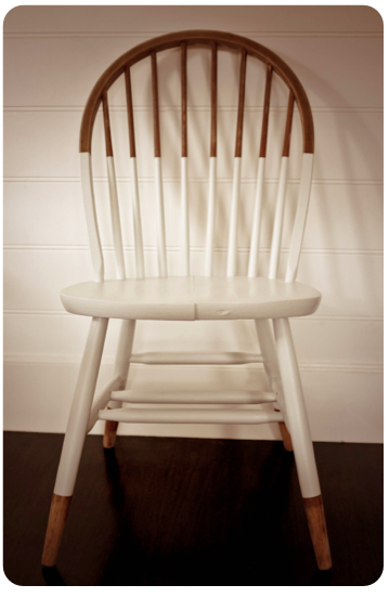 diy painted windsor chairs high kitchen i can t remember what your look like but if you te might nice that back wall with chalk board