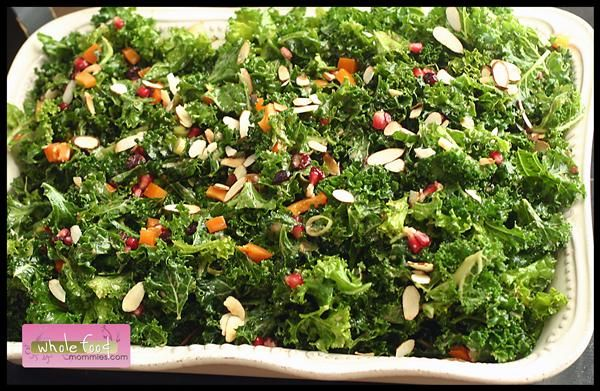 Pomegranate kale salad whole food mommies eat healthy dinner whole food recipes anti aging food whole food mommies provide you healthy food recipes that are tasty and better for you forumfinder Gallery