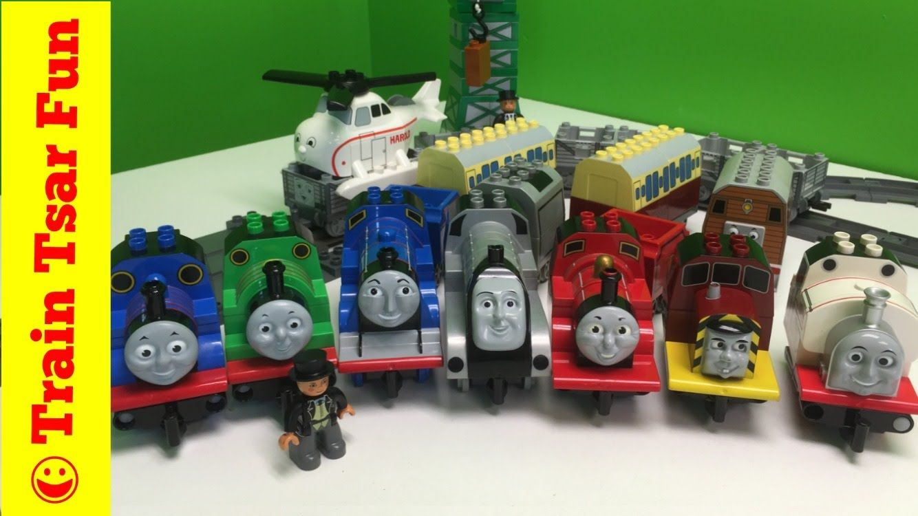 Thomas Friends Complete Collection Lego Duplo Trains With Crashes Lego Duplo Train Lego Duplo Thomas And Friends