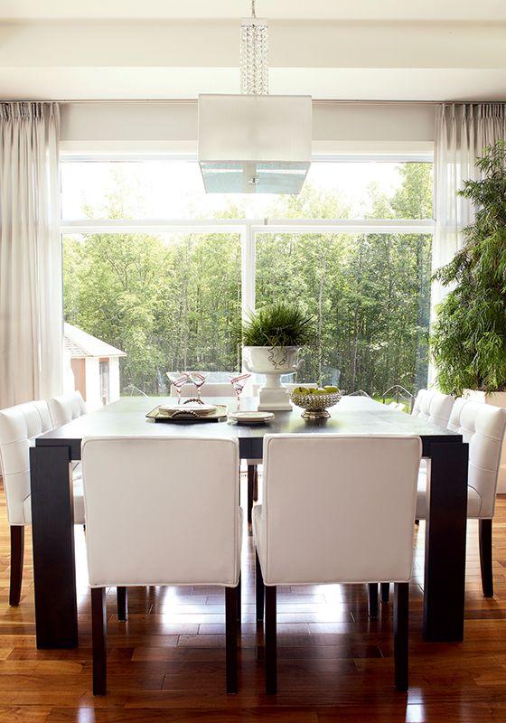 7 idées pour aménager la salle à manger Chez soi, La salle et Manger