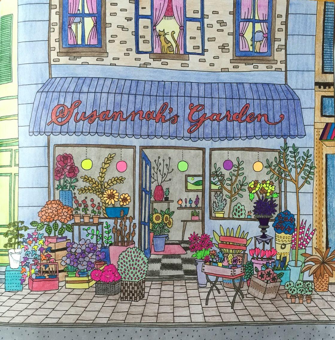 Colour book art - Debbie Macomber Come Home To Color Book Kkh