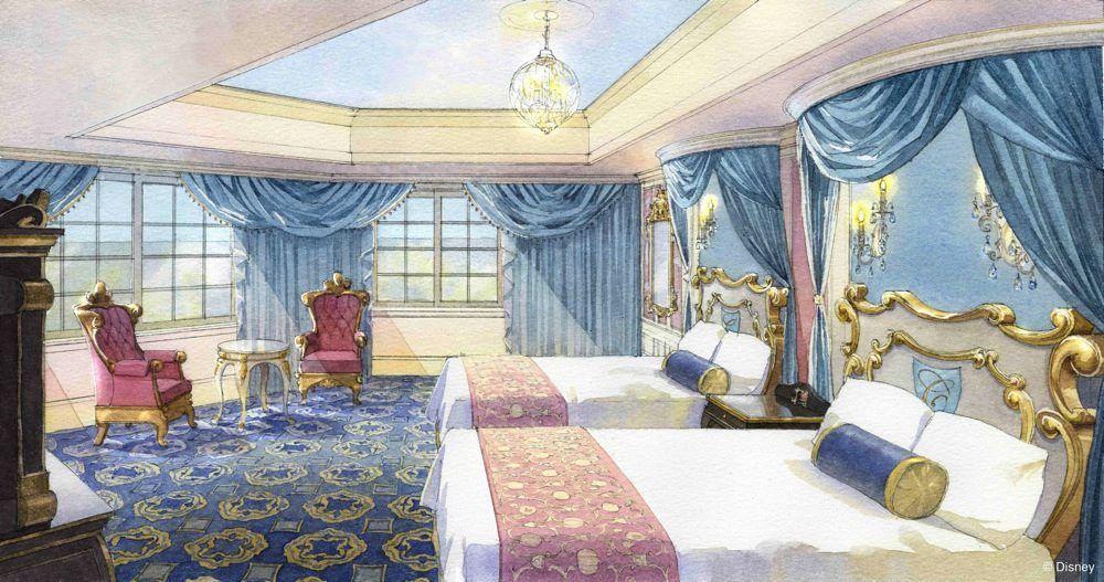cinderella suite tokyo disneyland hotel tokyo disney resort walt disney imagineering concept. Black Bedroom Furniture Sets. Home Design Ideas