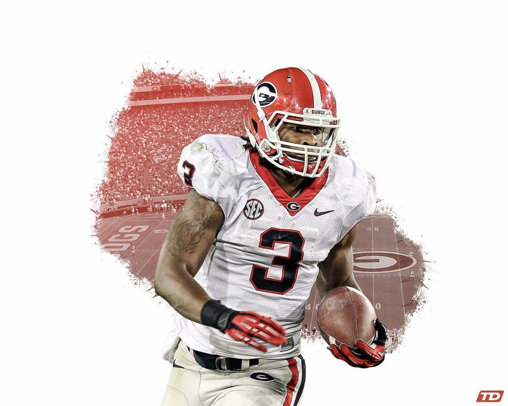 Todd Gurley All Photo Manipulation Done With Cs6 Photograph By Andy Lyons Getty Images Img Bleacherreport Net Img Todd Gurley Georgia Bulldogs Georgia Dawgs