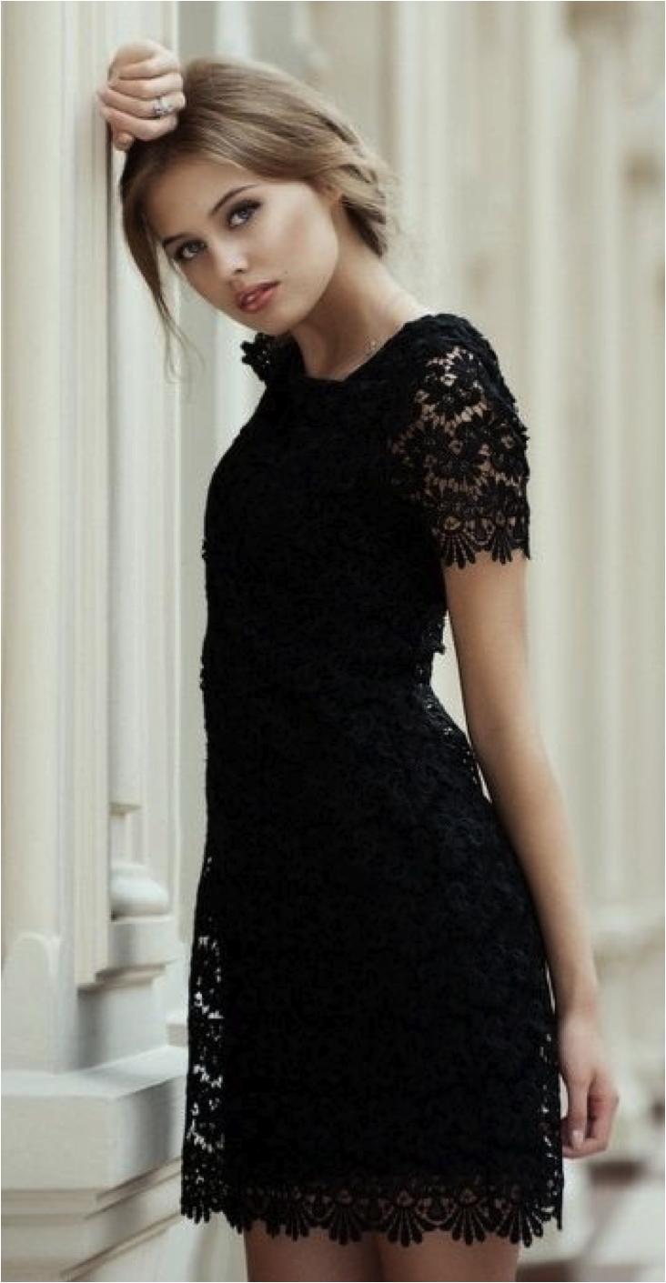 Black dress fashion inspiration my style pinterest dress