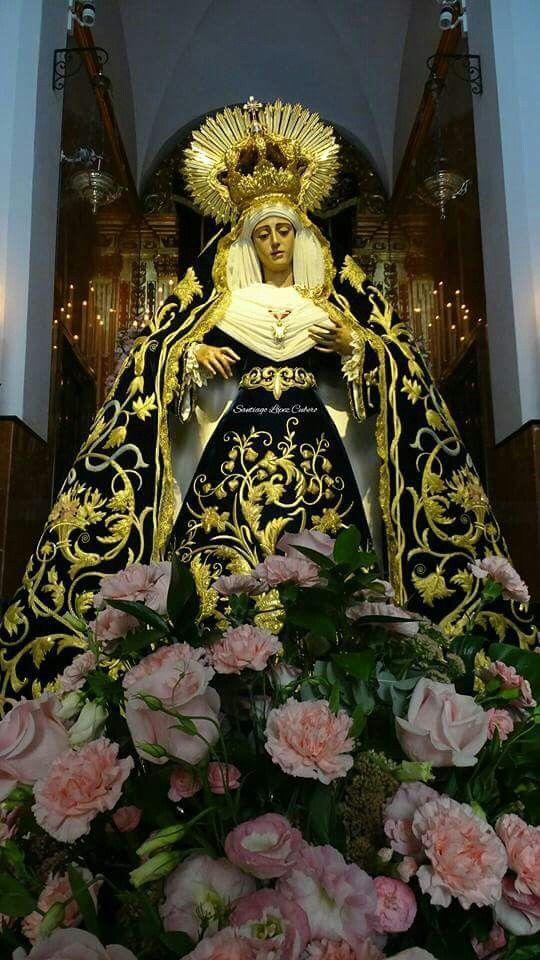 Pin De Arturo Castañeda En Milagro Virgen Dolorosa