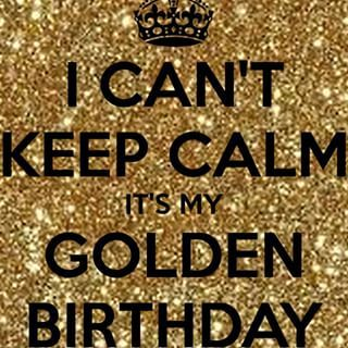 Happy Golden Birthday Images Google Search Golden Birthday Golden Birthday Gifts Golden Birthday Parties