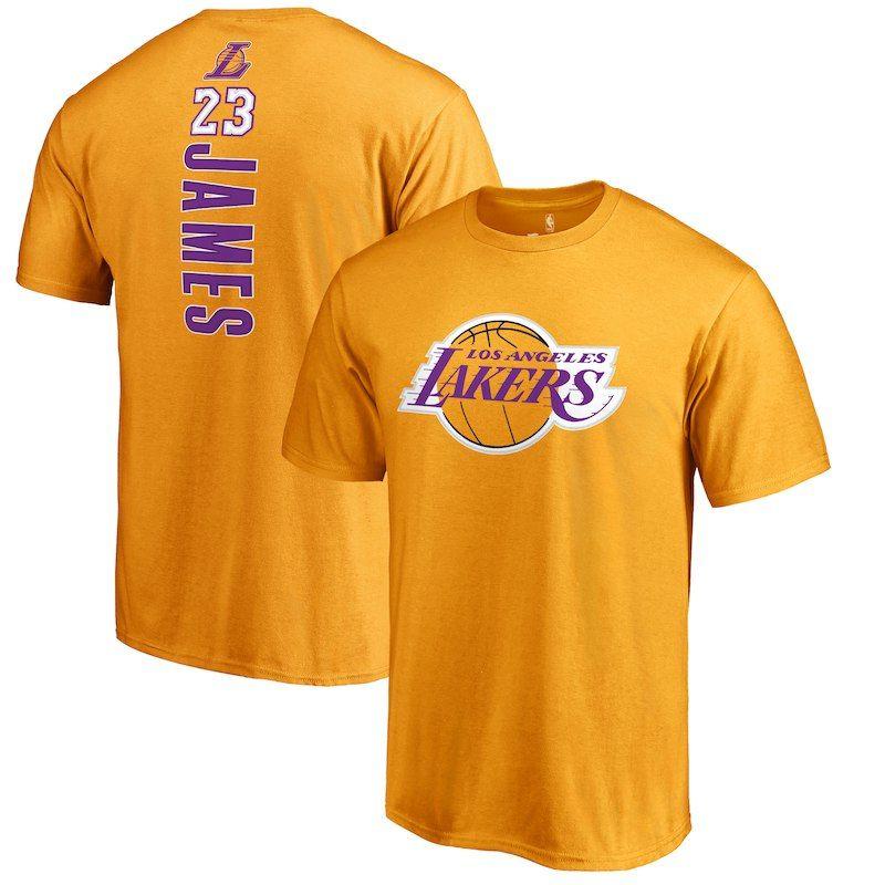pretty nice 9371e 6e9cd LeBron James Los Angeles Lakers Fanatics Branded Big & Tall ...