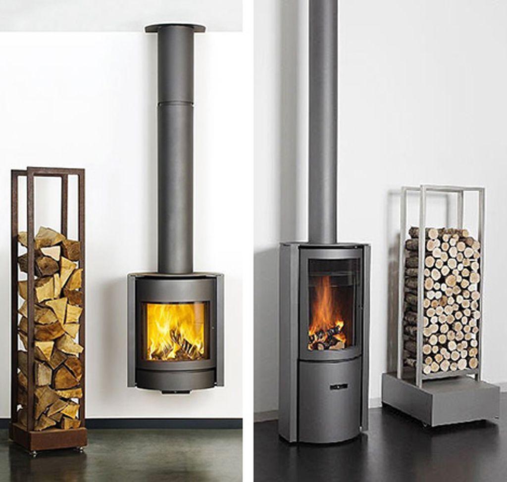 Modern Futuristic Wood Burning Stove Designs from Stuv minimalist ...