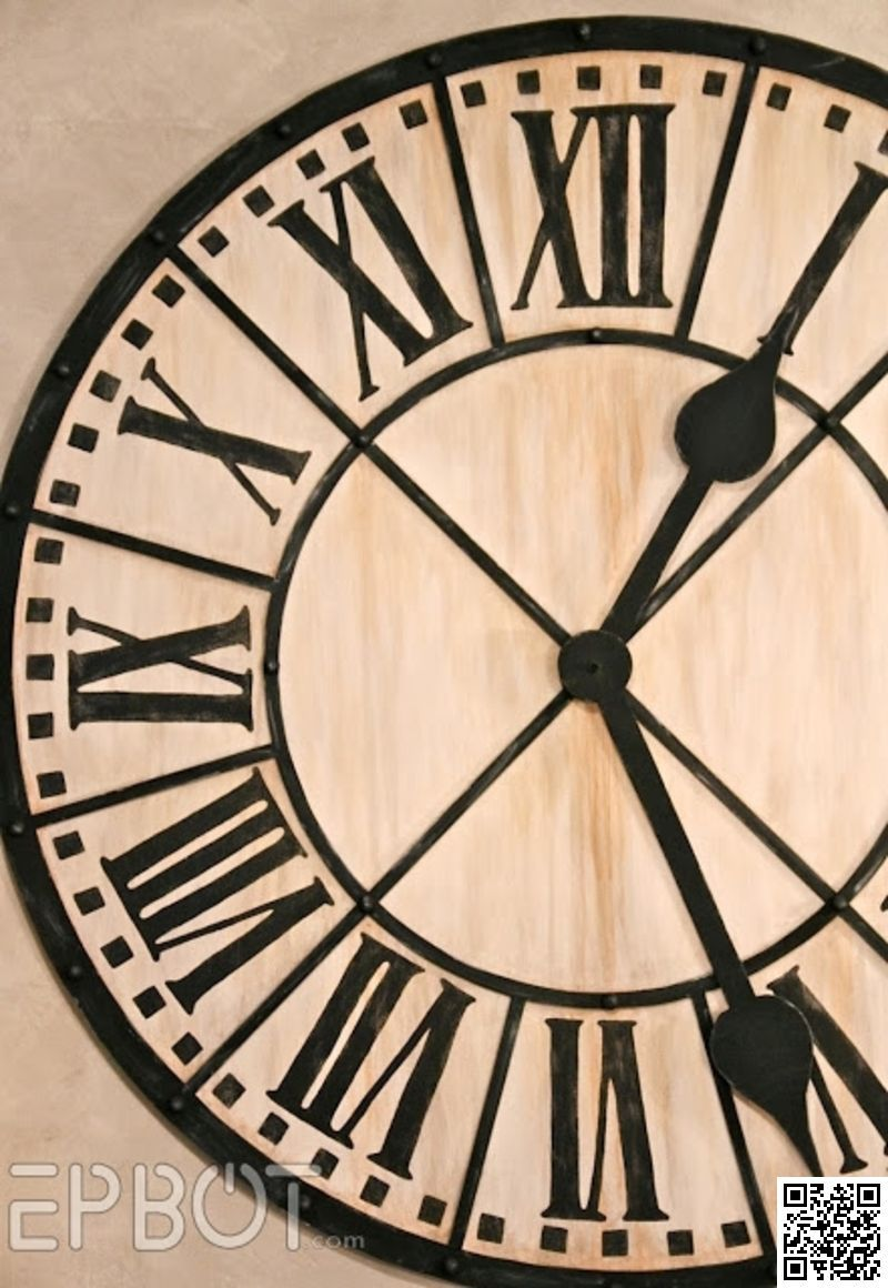 8 giant tower clock 9 incredibly fantastic diy large