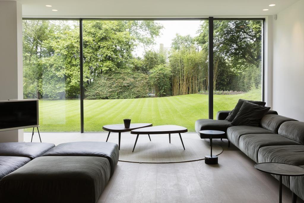 Baie vitrée  inspiration pour un intérieur lumineux Salons