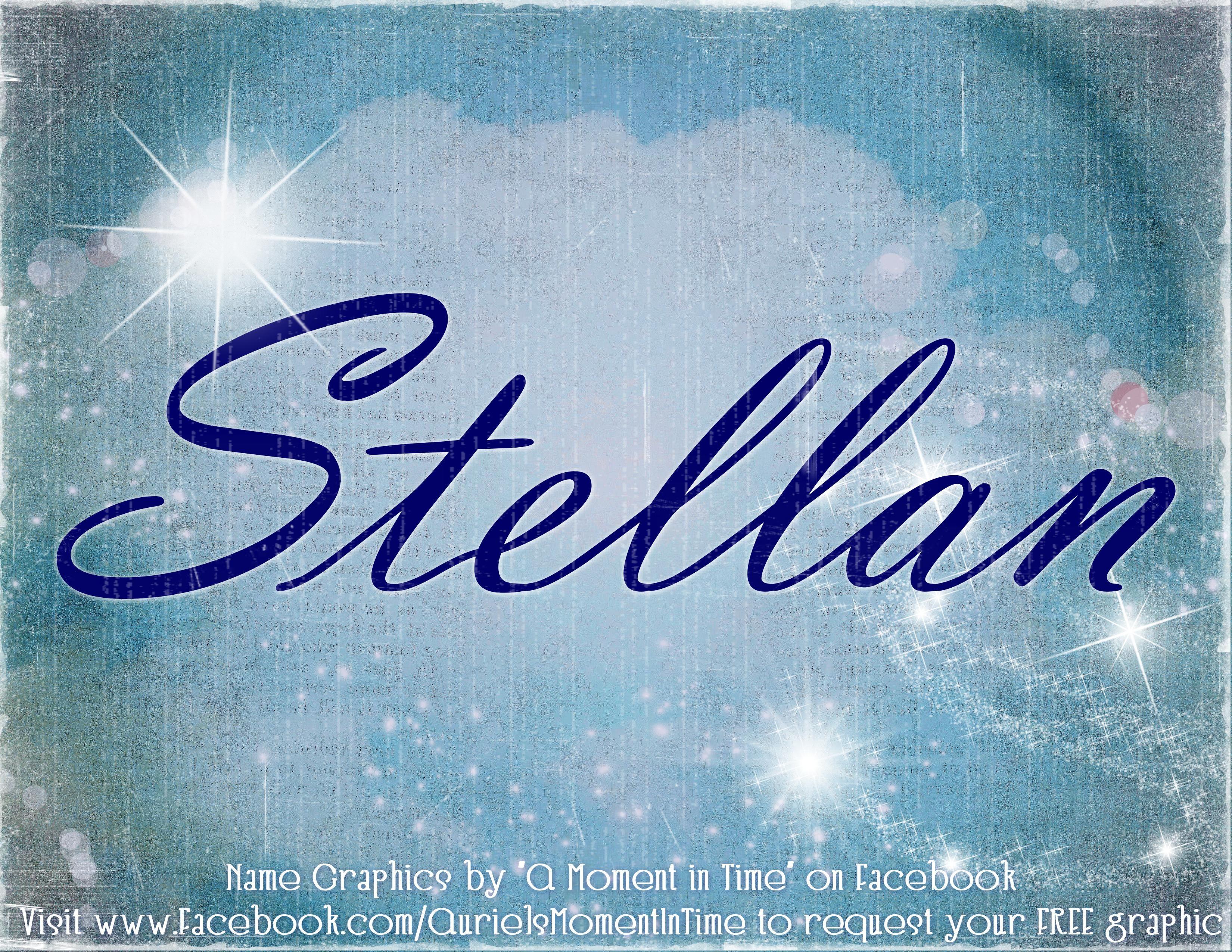 Stellan name meaning