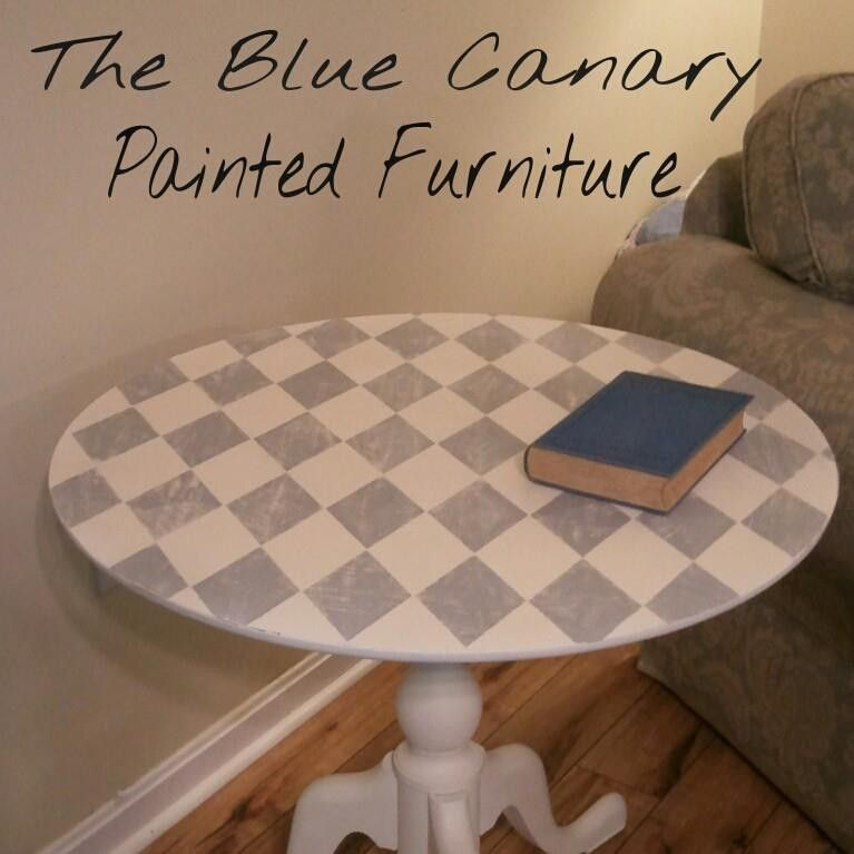 Hand Painted Side Table $295 - Fredericksburg http://furnishly.com/catalog/product/view/id/5412/s/hand-painted-side-table/