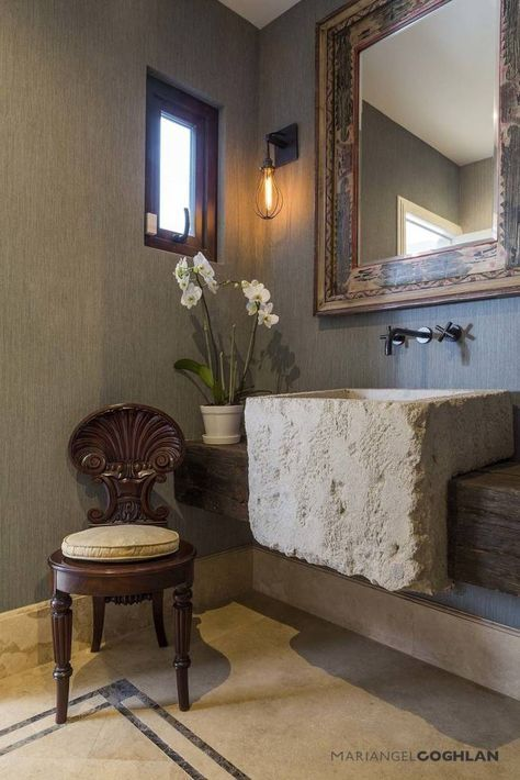 Ideas, imágenes y decoración de hogares Interiors, Art deco - diseos de baos