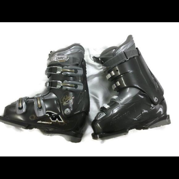 Nordica One 40 W Women Ski Boots 23 5 6 5 Boots Ski Women Ski Boots