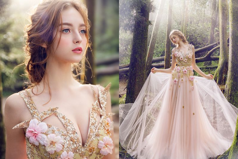 A Spring Fairy Tale! 35 Enchanting Romantic Dresses For