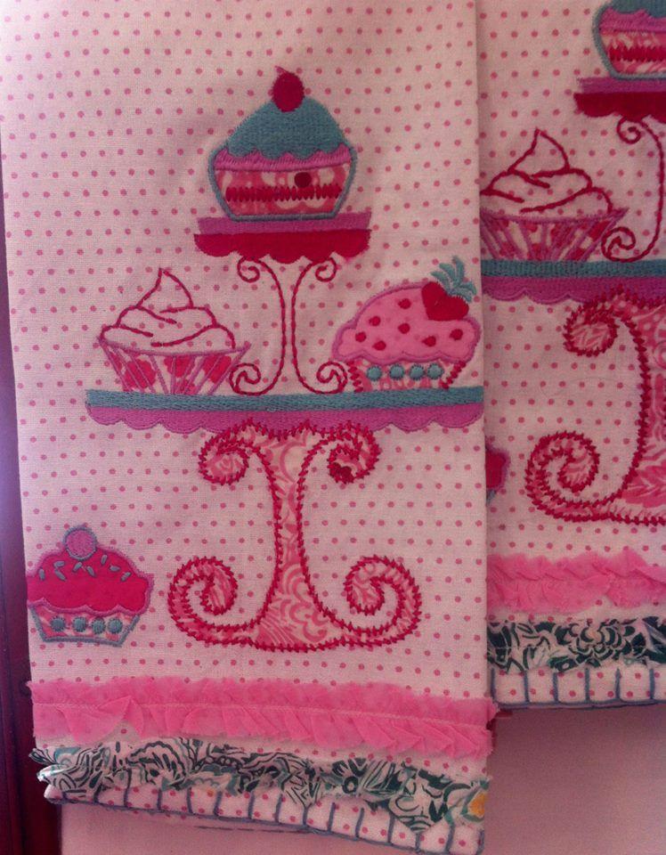 Cupcake Tea Towels (1347 danforth avenue, toronto)