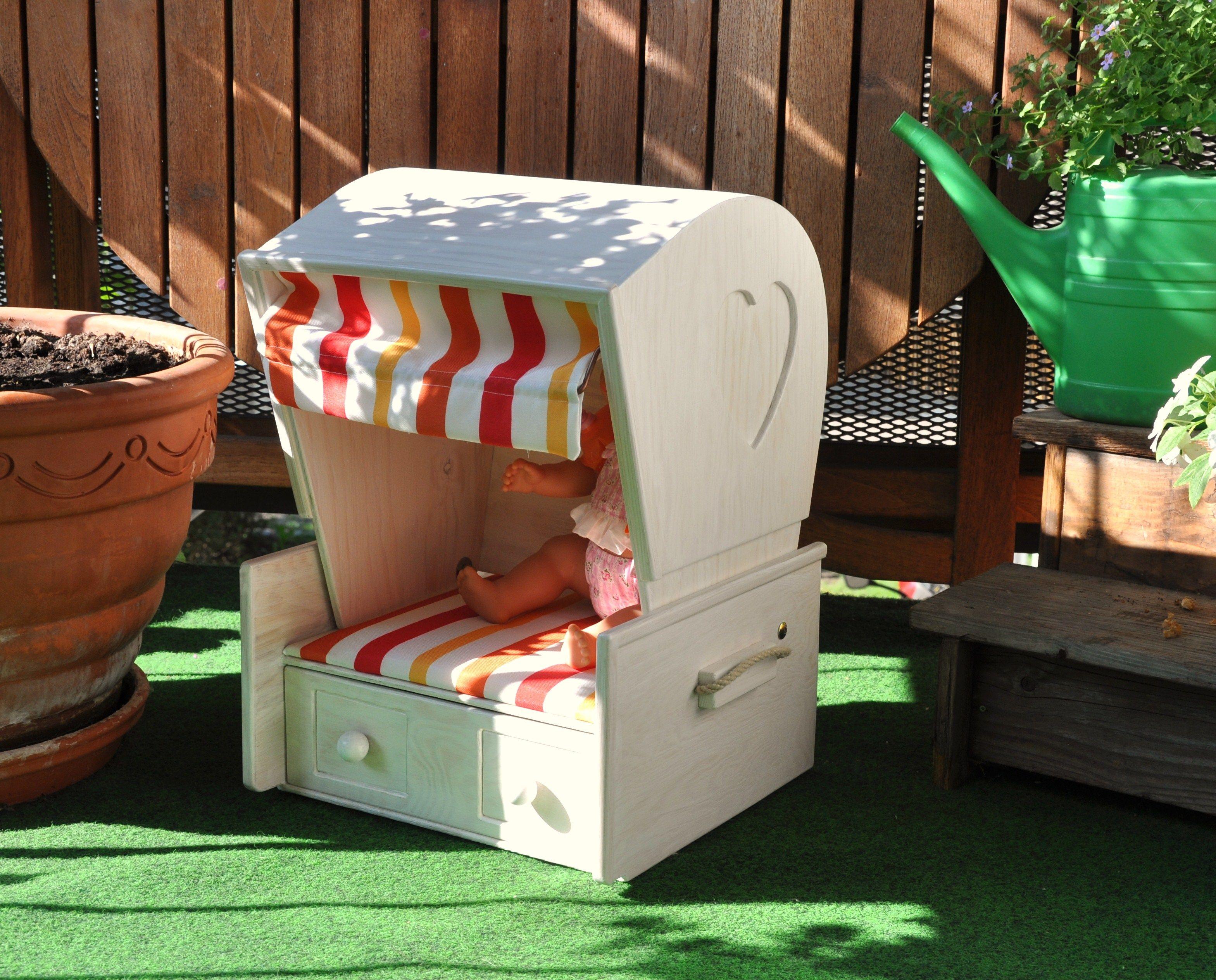 strandkorb f r mein m uschen bauanleitung zum selber bauen kinder holzspielsachen. Black Bedroom Furniture Sets. Home Design Ideas