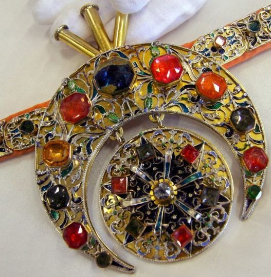 Ottoman jeweled horse trappings, Dresden State Art Collections.