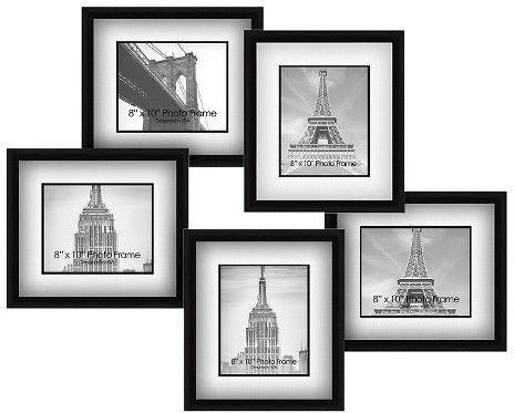 Pro Tour Memorabilia Multiple Image Frame - Wood, Black | Pinterest ...