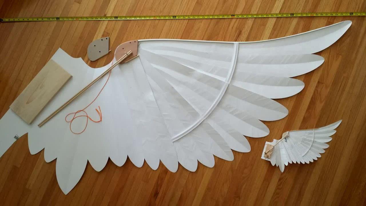 Blueprints For Paper Wings Version 2 Diy Wings Diy Angel Wings Paper Wings