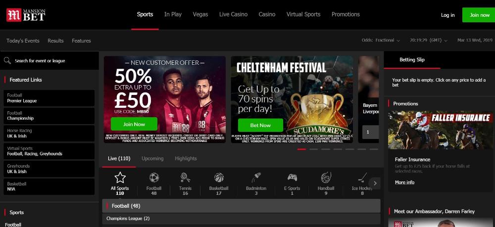 Live sports betting uk irish 2000 guineas betting 2021 election