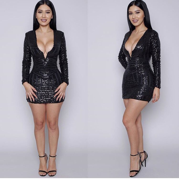 aa37a5025223 Klosetenvy | Janet Guzman in 2019 | Dresses with sleeves, Dresses ...
